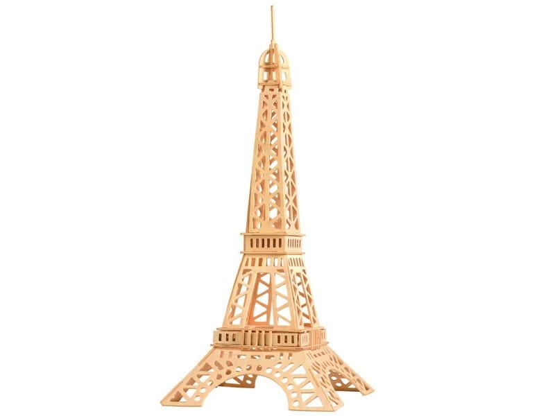 Wieża Eiffla składanka drewniana