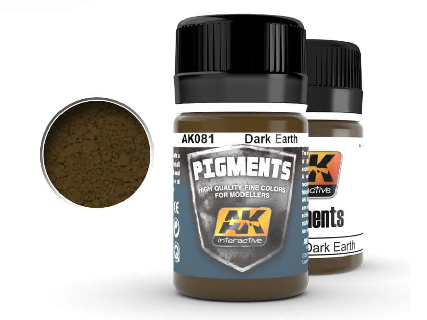 Pigment modelarski Dark earth